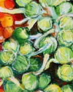 Brussell Sprouts with Grape Tomatoes